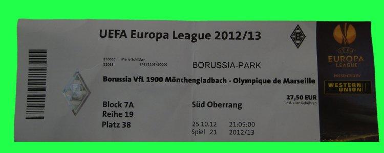 Ticket Mönchengladbach