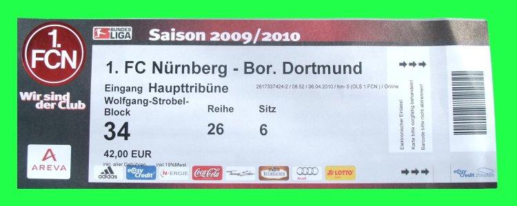 Tickets 1. Fc Nürnberg