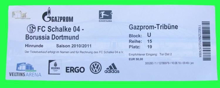 Schalke Tickets