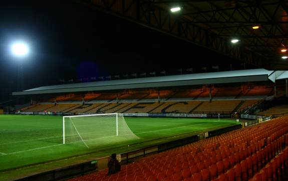 Vale Park - Carling/Railway Stand